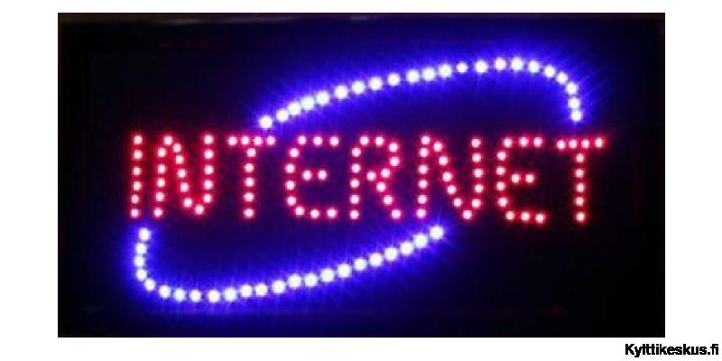 "Led-skylt ""INTERNET"""