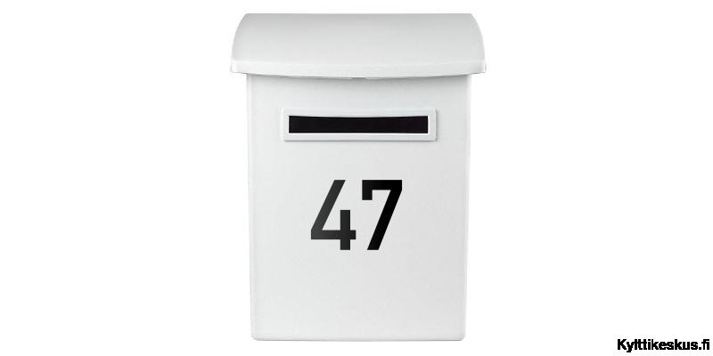 Nummeretikett för brevlåda